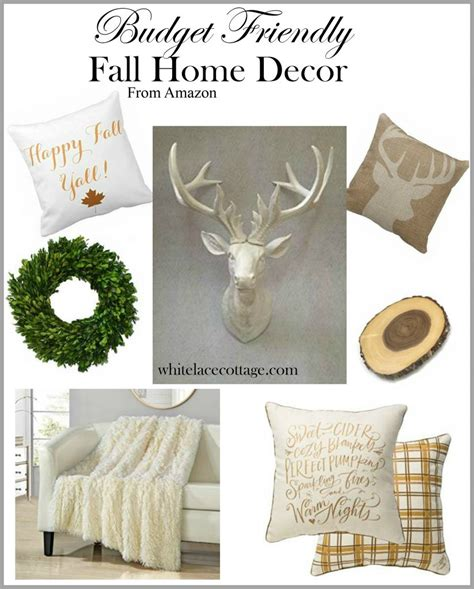 decorate for fall on a budget decorating on a budget for fall white lace cottage