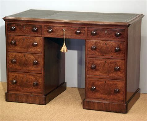 Small Antique Pedestal Desk Antique Mahogany Desk Small Small Antique Desk