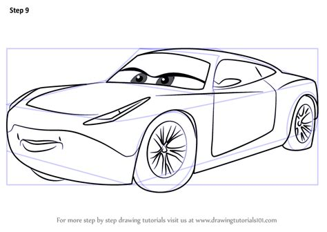 Cars 3 Sketches by Step By Step How To Draw Ramirez From Cars 3
