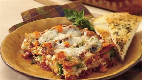 Garden Vegetable Lasagna Recipe From Betty Crocker Garden Vegetable Lasagna