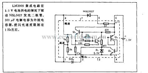 light emitting diode circuit diagram 1 5v light emitting diode flasher circuit led and light circuit circuit diagram seekic