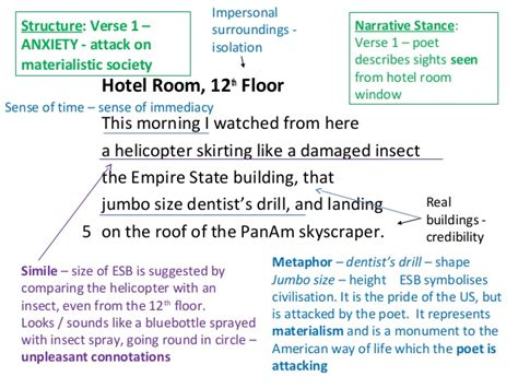 Hotel Room 12th Floor Critical Essay by Critical Essay Hotel Room 12th Floo