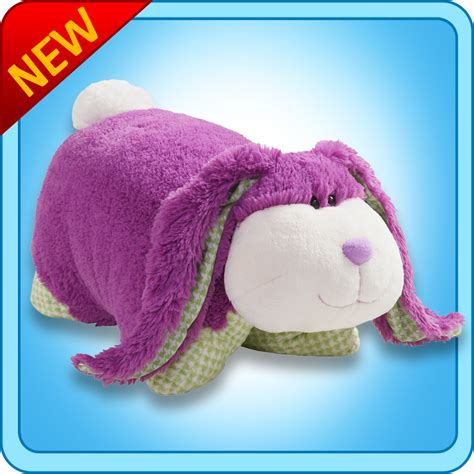 Purple Pillow Pet by 04 19 11 Pillow Pets Purple Fluffy Bunny Giveaway Lower 48 Only