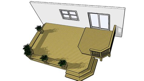 Patio Design Plans Free Deck Plans 2lf1612 Free 200 Sf Plan It Now