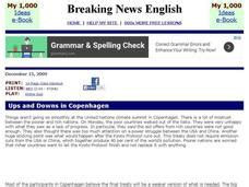 breaking news english english news readings level 5 breaking news english climate change interactive for 5th