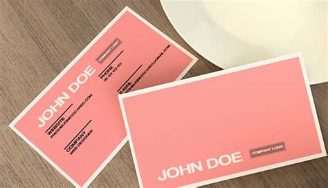 beautiful business card templates 30 beautiful business card design templates