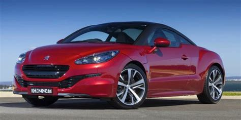 peugeot second prices peugeot rcz review specification price caradvice