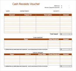 cheque voucher template sle receipt voucher template 8 free