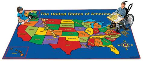 us map rug united states carpet 6 x 9 4 lakeshore class room this would be great in the