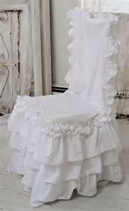 shabby chic chair covers ruffle feminine bedding shabby style ruffled duvet cover