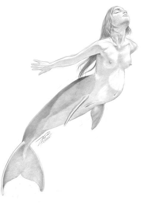 Amazing Girls Mermaid Bathroom #4: 160a94f7572725bdfdd26dfab7a33eaa--mermaid-art-drawing-sketches.jpg
