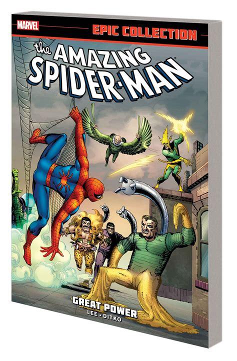 libro amazing spider man epic collection jul140723 amazing spider man epic collection tp great power previews world