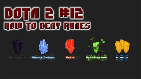 dota 2 runes wallpaper dota 2 tip 12 denying a rune youtube