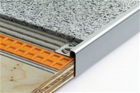 Schluter Countertop Edging by Finishing Edge Protection Himalaya Design