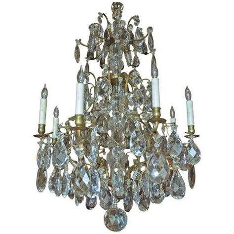 Swedish Chandelier Rococo Style Swedish Chandelier With Sixteen Lights C 1910 Antique Chandeliers