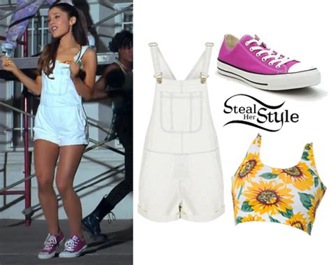 what is ariana grandes style ariana grande quot baby i quot music video outfits steal her style