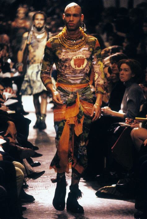 Who Wore Jean Paul Gaultier Better by The Permanent Layer Tattoos And Fashion