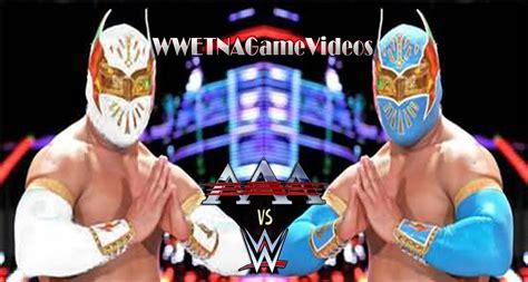 imagenes de luchas libres wwe vs aaa lucha libre 2015 sin cara vs myzteziz wwe