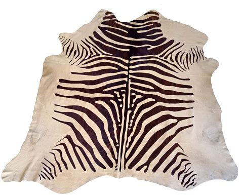 brown and white zebra rug brown and white zebra cowhide rug design by bd hides burke decor
