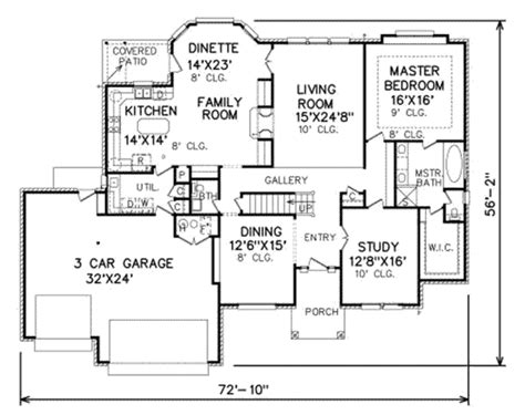 3000 sq ft house plans traditional style house plan 4 beds 2 5 baths 3000 sq ft