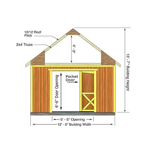 Belmont Shed by Belmont 12 Ft X 16 Ft Best Barns Wood Shed Barn Kit