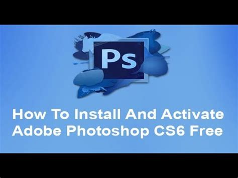 free download adobe photoshop cs6 full version remo xp how to download adobe photoshop cs6 full version for free