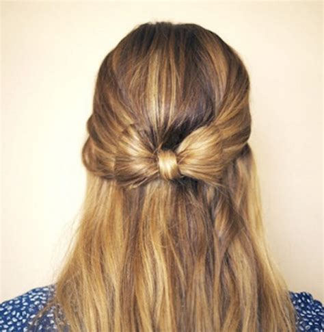 Half Up Hairstyles For Hair by Half Up Half Prom Hairstyles For Hair Fashion