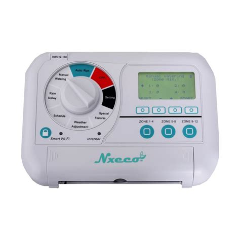 nxeco pro 12 station smart sprinkler controller hwn12 100