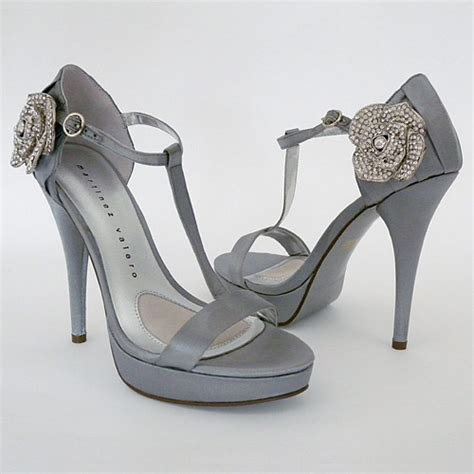 silver wedding shoes wedding shoes
