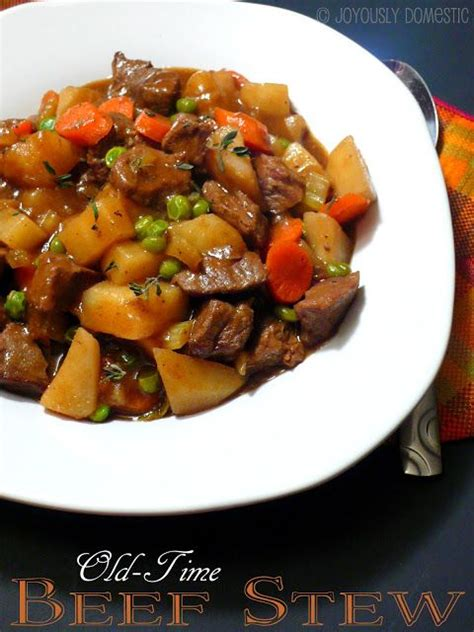 joyously domestic pd s old time beef stew i added one