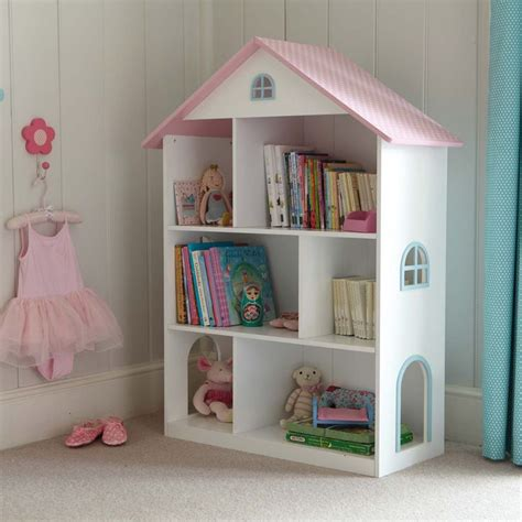 Dotty Dolls House Bookcase Little Ones Pinterest