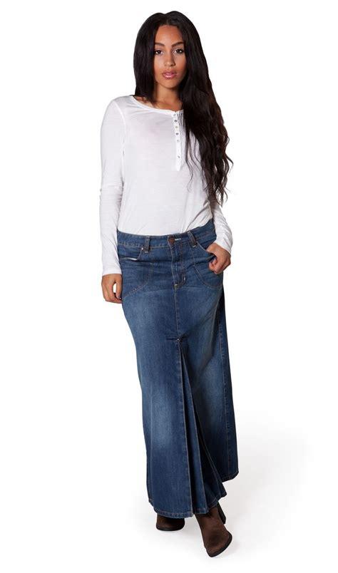 Dress Denim Longhem Denim Belt Tunik Denim best 25 maxi denim skirts ideas on maxi skirt fall maxi skirt winter and maxi