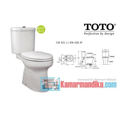 Harga Katalog Wasser Sanitary by Cw 421 J Sw 420 Jp Toko Perlengkapan Kamar