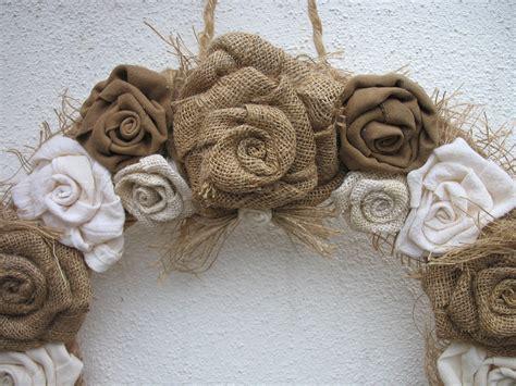 burlap wreath for the door burlap wedding