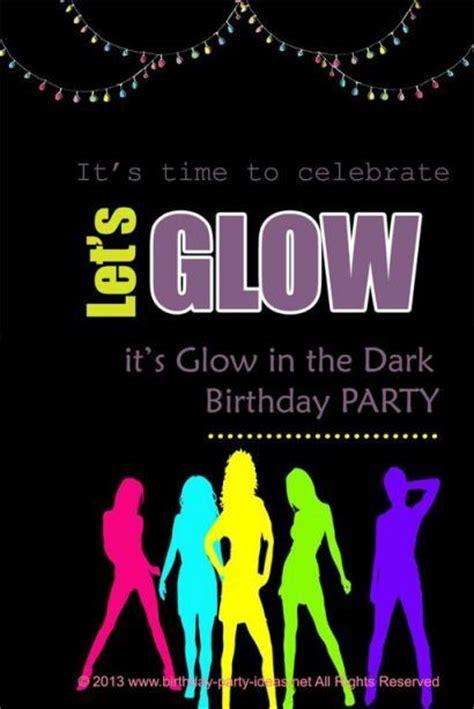 Glow In The Dark Or Black Light  Ee  Birthday Ee    Ee  Party Ee   Some
