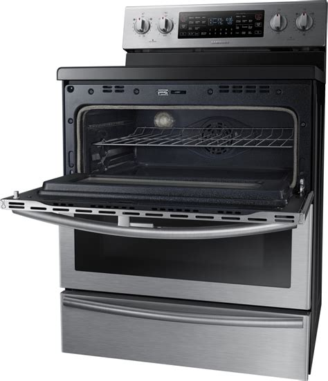 samsung ne59j7850ws 30 inch freestanding electric range with 5 9 cu ft flex duo convection