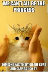 Birthday Princess Meme - princess someone has tosit on the curb and clapasigo by