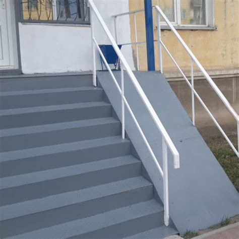 Porch Handrails For Steps Wheelchair Ramps For Stairs Outdoor Home Ideas