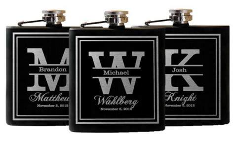 wedding party favors groomsmen flask gifts custom