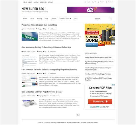 cara membuat blog fast loading 94 template buat blog cara mudah membuat template blog