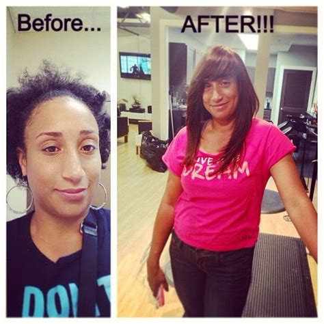 before and after sew in pics 8 best images about full sew in no leave out this style