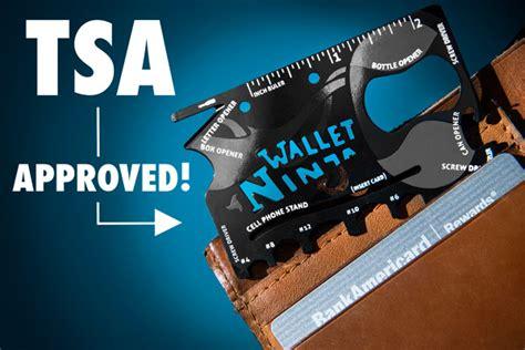 multi tool tsa approved wallet wallet sized 18 in 1 multi tool function