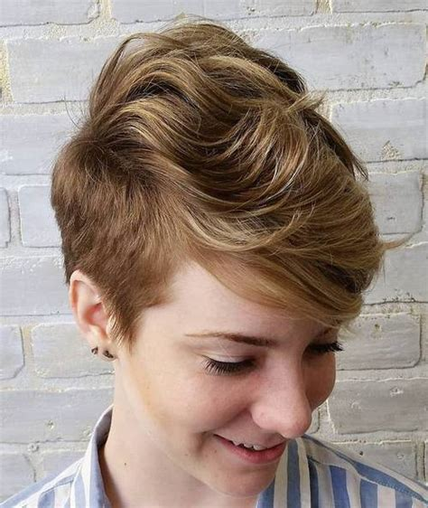 short sides long top hairstyles women short sassy haircuts therighthairstyles com