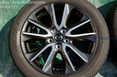 2016 mazda cx 3 oem 18 quot factory wheels p215 50r18 tires