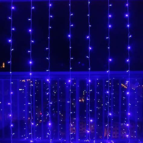 blue fairy lights amazon ucharge curtain fairy light 32ft 1000led curtain led