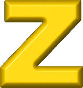 presentation alphabets yellow refrigerator magnet z