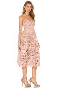 azaelea blush pink lace dress