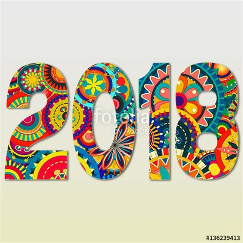 new year 2018 number quot happy new year 2018 celebration number