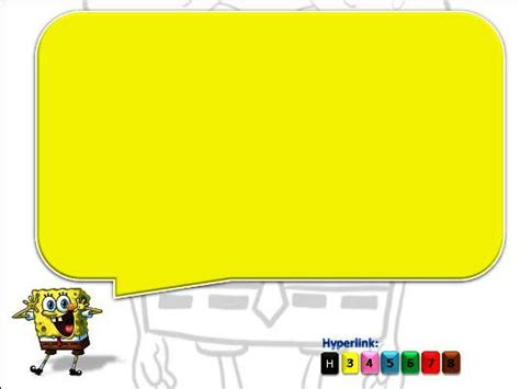 spongebob powerpoint template powerpoint template spongebob template