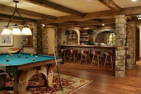 rustic basement ideas rustic basement bar ideas basement traditional with